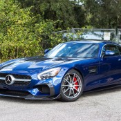 Brilliant Blue RENNtech AMG GT-2
