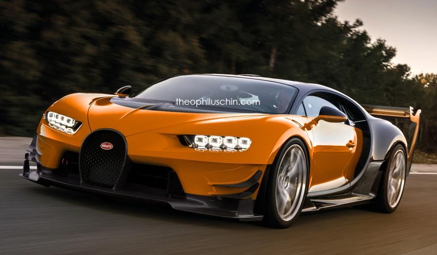 Bugatti Chiron SuperSport Render at Bugatti Chiron SuperSport Speculatively Rendered