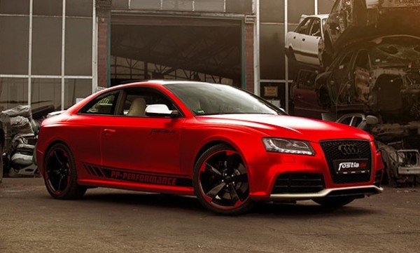 Chrome Red Audi RS5-0