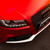 Chrome Red Audi RS5-1
