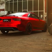 Chrome Red Audi RS5-2