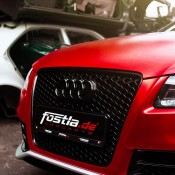 Chrome Red Audi RS5-5