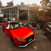 Chrome Red Audi RS5-6