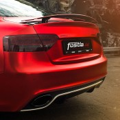 Chrome Red Audi RS5-7