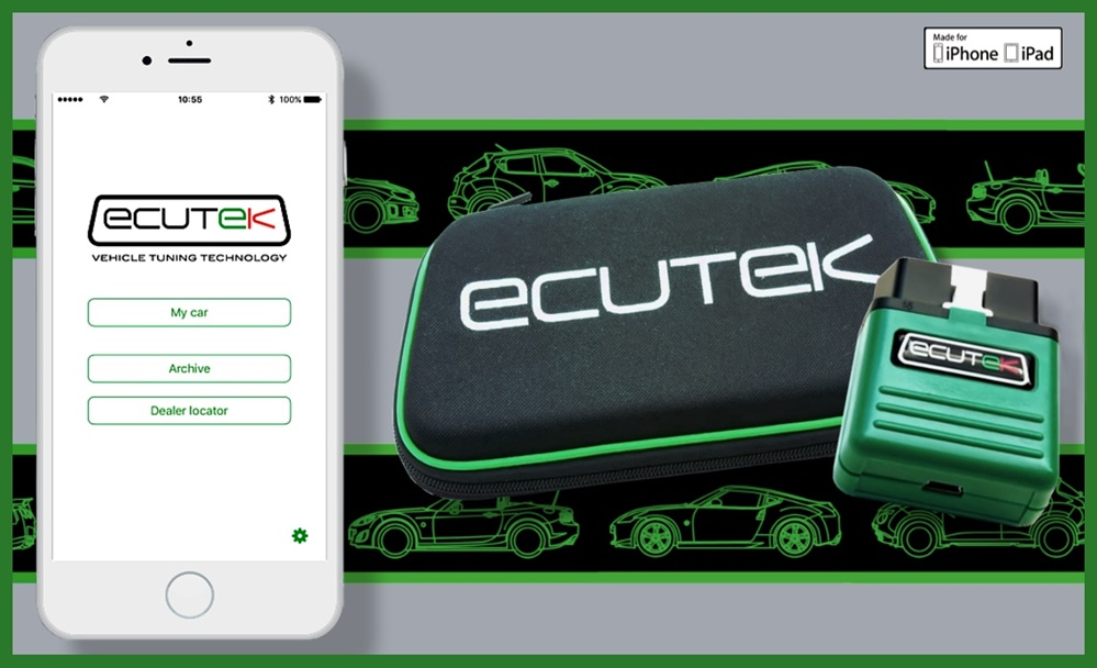 ECU Connect Press Release Main Header Picture at For Engine Geeks: EcuTek Connects Your iPhone to Your Engine