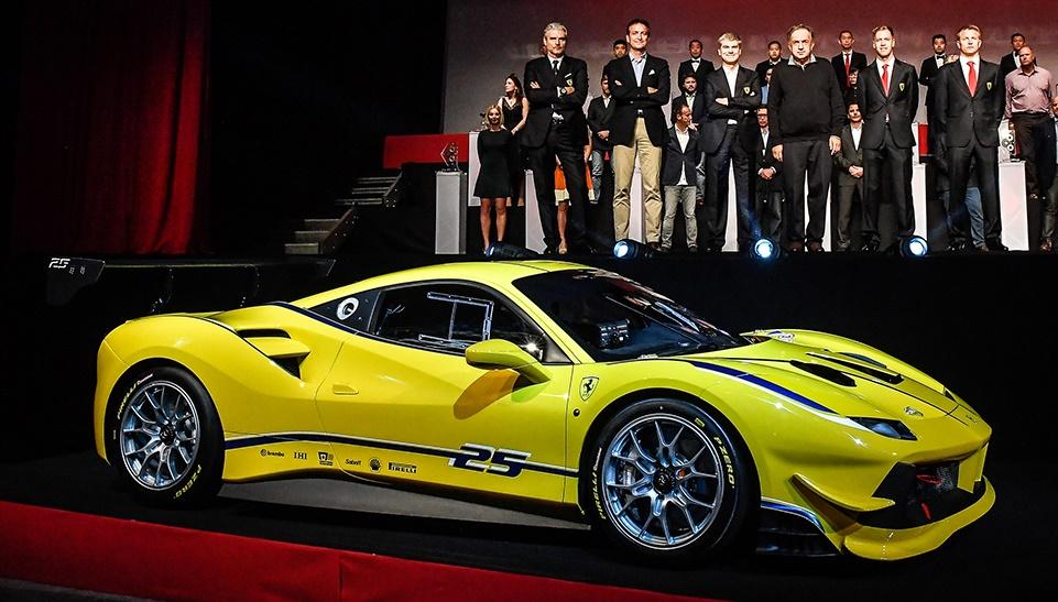Ferrari 488 Challenge Unveiled At Daytona
