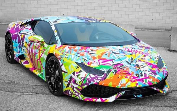 Graffiti Lamborghini Huracan-0