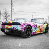 Graffiti Lamborghini Huracan-2
