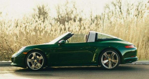 Irish Green Porsche 991 Targa-00