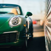 Irish Green Porsche 991 Targa-12