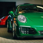 Irish Green Porsche 991 Targa-2