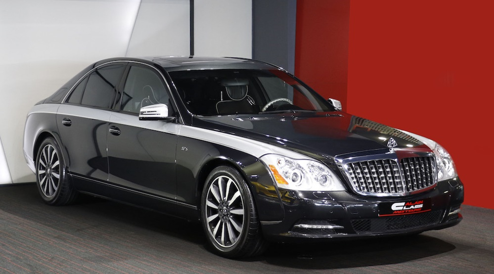 maybach 57s edition 125 spotted for sale