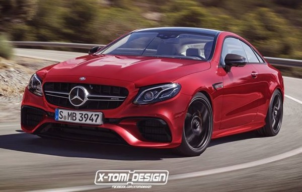 Mercedes-AMG E63 Coupe render