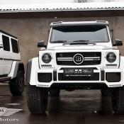 Mercedes G500 4x4-Brabus-1