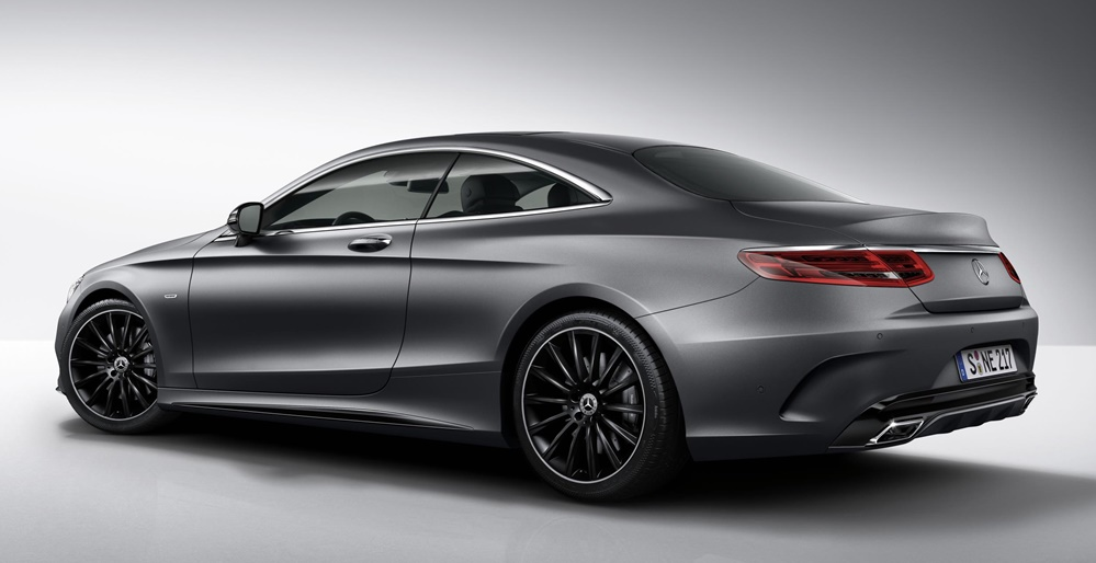 Official: Mercedes S-Class Coupe Night Edition