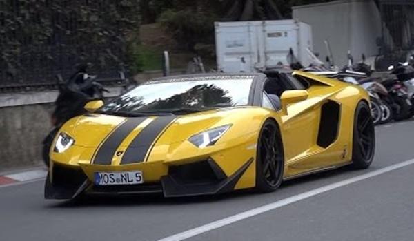 Molto Veloce Monaco at Loaded DMC Aventador Molto Veloce Spotted in Monaco
