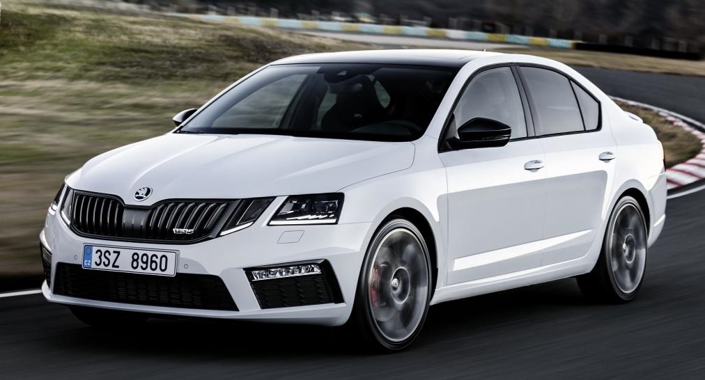 new skoda octavia vrs revealed with 230 hp. Black Bedroom Furniture Sets. Home Design Ideas