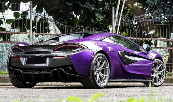 Permaisuri Mauvine Blue McLaren 570S-0