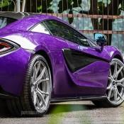 Permaisuri Mauvine Blue McLaren 570S-2