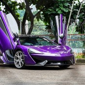 Permaisuri Mauvine Blue McLaren 570S-9