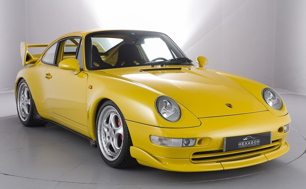 Porsche 993 RS Clubsport sale 0 at Porsche 993 RS Clubsport on Sale for £400K
