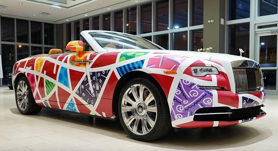 Rolls-Royce Dawn Gets Cool Britto Wrap