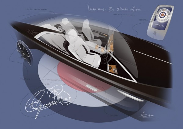 Rolls-Royce Wraith Inspired by British Music-1
