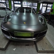 Satin Metallic Grey Porsche 991 GTS-1