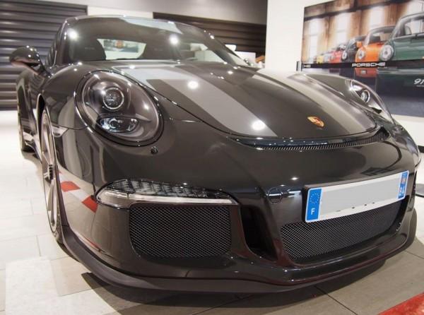 Slate Grey Porsche 911 R 0 600x446 at Slate Grey Porsche 911 R Inspired by Steve McQueen