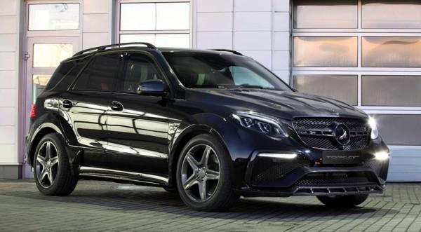 TopCar Mercedes GLE Guard-0