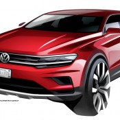 VW Tiguan Allspace 1 175x175 at VW Tiguan Allspace Teased for NAIAS 2017