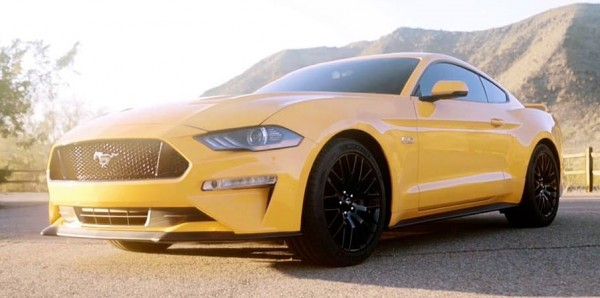 2018 Ford Mustang first 0 600x298 at First Look: 2018 Ford Mustang Facelift