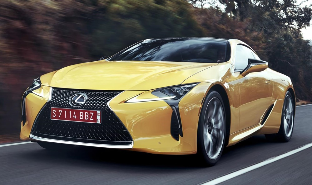 2018 Lexus LC 500 price 1 at 2018 Lexus LC 500 Is Mighty Expensive