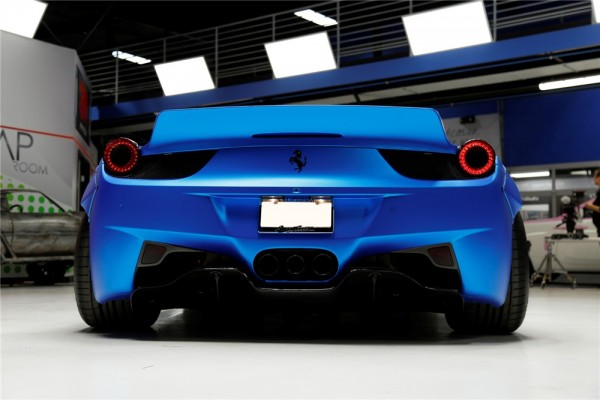 Bieber Ferrari 458 Wide Body Sale 11 600x400 at Justin Biebers Ferrari 458 Wide Body Is Up for Grabs
