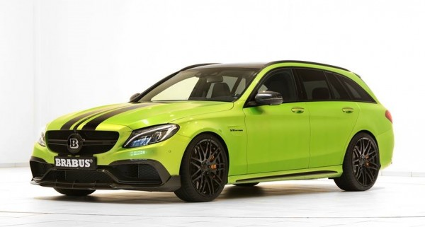 "Brabus Mercedes AMG C63 Wagon 650 0 600x321 at Brabus Mercedes AMG C63 Wagon 650 ""Green Hell"""