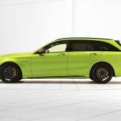 "Brabus Mercedes AMG C63 Wagon 650 1 175x175 at Brabus Mercedes AMG C63 Wagon 650 ""Green Hell"""