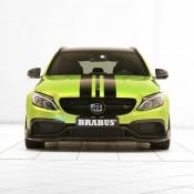 "Brabus Mercedes AMG C63 Wagon 650 3 175x175 at Brabus Mercedes AMG C63 Wagon 650 ""Green Hell"""
