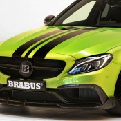 "Brabus Mercedes AMG C63 Wagon 650 5 175x175 at Brabus Mercedes AMG C63 Wagon 650 ""Green Hell"""