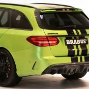 "Brabus Mercedes AMG C63 Wagon 650 7 175x175 at Brabus Mercedes AMG C63 Wagon 650 ""Green Hell"""