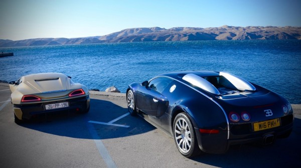 Bugatti Veyron v Rimac Concept One 2 600x335 at Bugatti Veyron v Rimac Concept One – The Ultimate Challenge