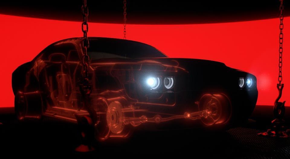 Dodge Challenger Demon teaser 1 at Dodge Challenger Demon Teased and Possibly Leaked