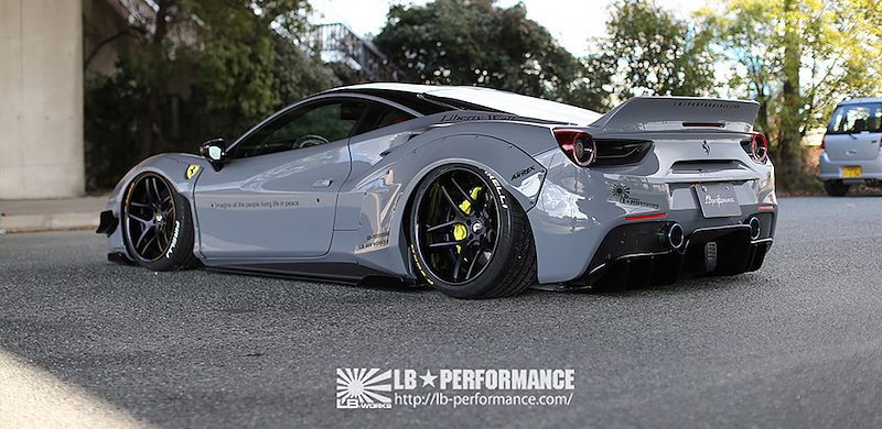 Liberty Walk Ferrari 488 Debuts At Tas 2017