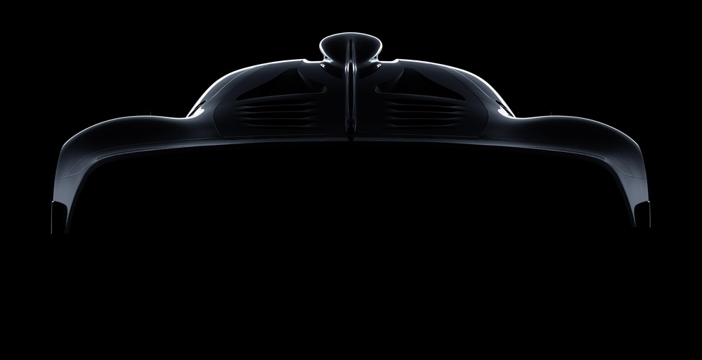 Mercedes AMG Hypercar teaser 1 at Mercedes AMG Hypercar Initial Specs Revealed