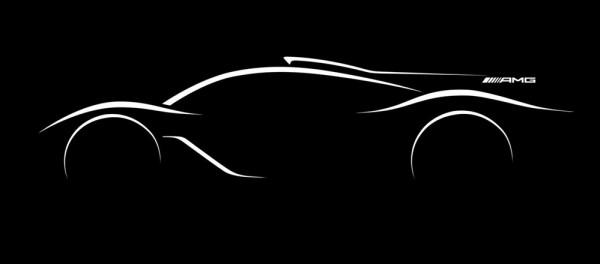Mercedes AMG Hypercar teaser 2 600x264 at Mercedes AMG Hypercar Initial Specs Revealed