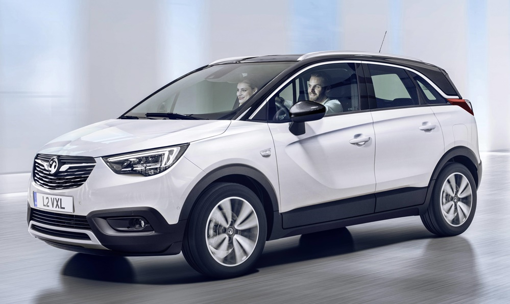 Vauxhall Crossland X 1 at Official: Vauxhall Crossland X