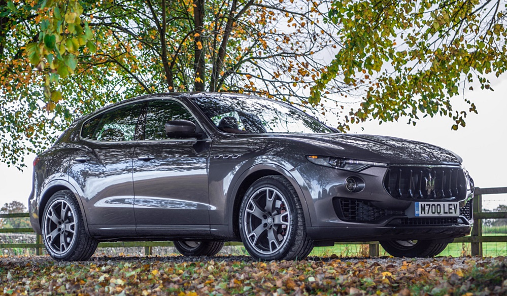 levante test at Harry Metcalfe Goes In Depth with Maserati Levante