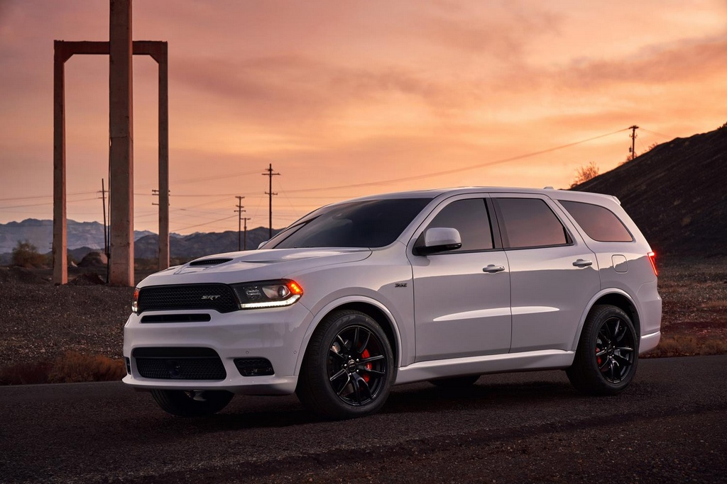 2018 dodge durango srt revealed with 475 hp. Black Bedroom Furniture Sets. Home Design Ideas