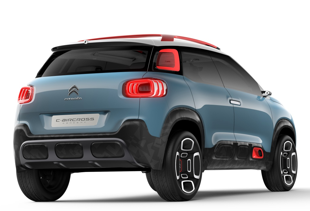 citroen c aircross concept revealed ahead of geneva debut. Black Bedroom Furniture Sets. Home Design Ideas