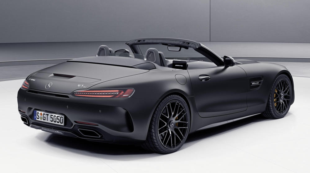 official mercedes amg gt c roadster edition 50. Black Bedroom Furniture Sets. Home Design Ideas