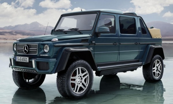 Mercedes Maybach G650 Landaulet 0 600x361 at Mercedes Maybach G650 Landaulet Goes Official